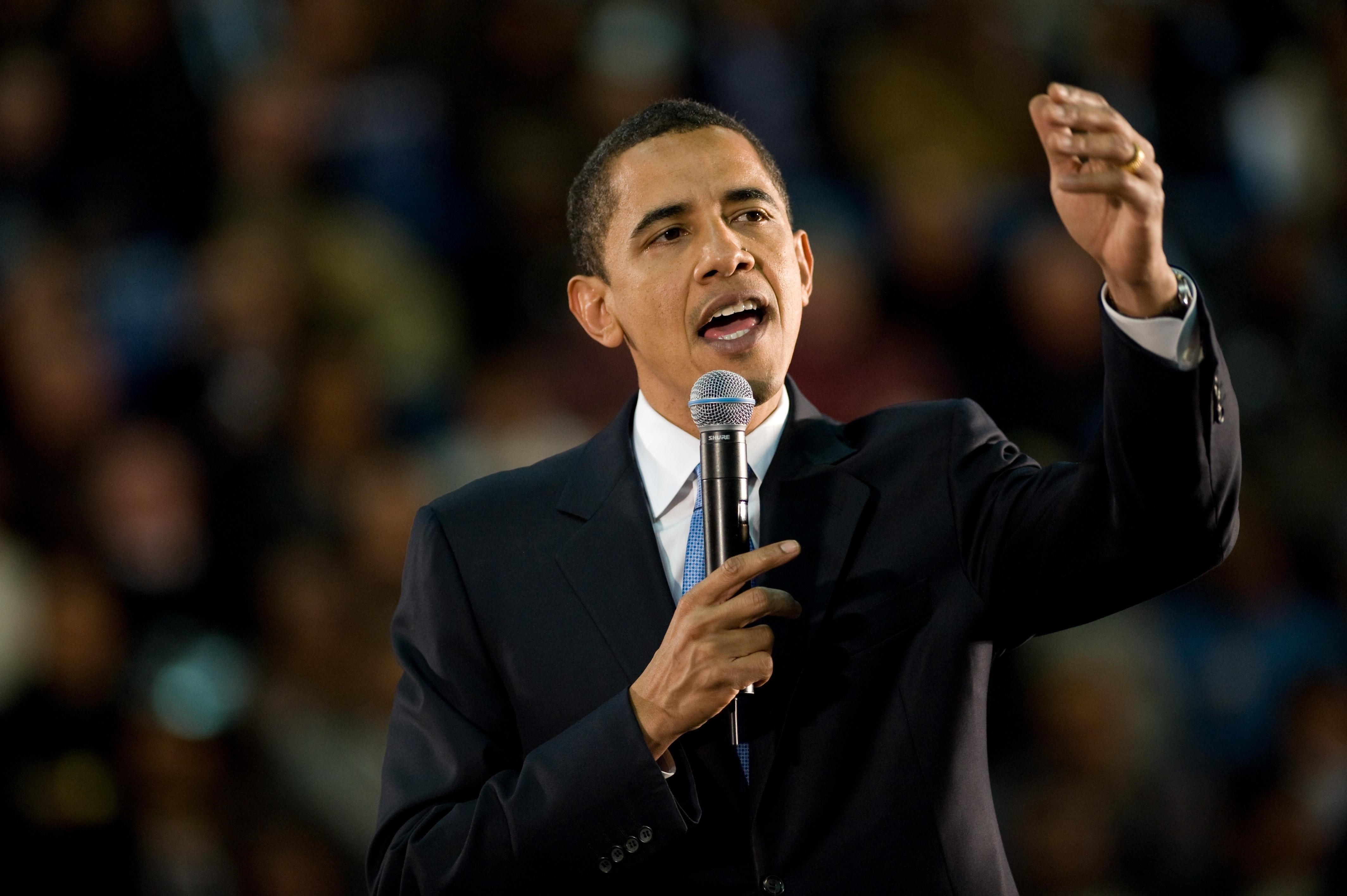Tidigare presidenten Barack Obama